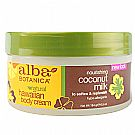 Alba Botanica Coconut Milk Body Cream