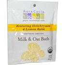 Aura Cacia Organic Milk & Oat Bath Mix - Restoring Helich...