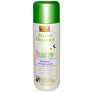 Avalon Organics Baby Organic Gentle Tear Free Shampoo and Body Wash