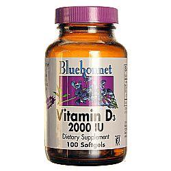 Bluebonnet Nutrition Vitamin D3 2,000 IU