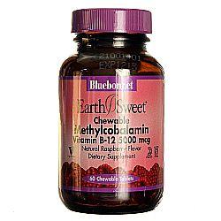 Bluebonnet Nutrition Chewable Methylcobalamin B12 5,000 mcg