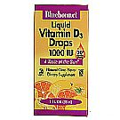 Bluebonnet Nutrition Liquid Vitamin D3 Drops 1,000 IU