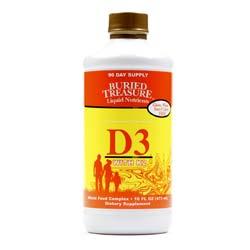 Buried Treasure Liquid D3 with K2