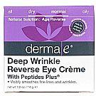 Derma E Peptides Plus Wrinkle Reverse Eye Creme