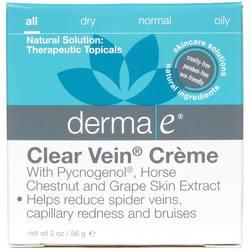 Derma E Clear Vein Crème