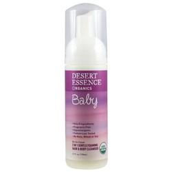 Desert Essence Baby 2-in-1 Gentle Foaming Hair & Body Cleanser
