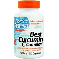 Doctor's Best Best Curcumin C3 Complex with BioPerine 500 Mg