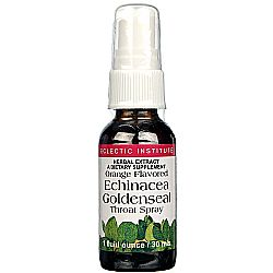 Eclectic Products Echinacea and Goldenseal Spray - Orange