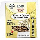 Eden Foods Organic Kamut and Quinoa Twisted Pair Pasta - ...