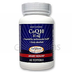 Enzymatic Therapy CoQ10 30 mg