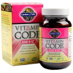 Garden of Life Vitamin Code RAW B12
