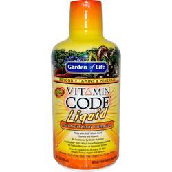 Garden of Life Vitamin Code Liquid Multivitamin