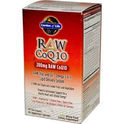 Garden of Life RAW CoQ10 200 mg