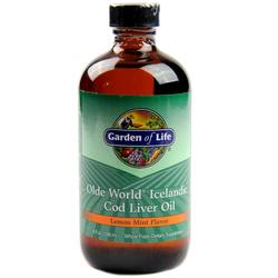 Garden of Life Olde World Icelandic Cod Liver Oil