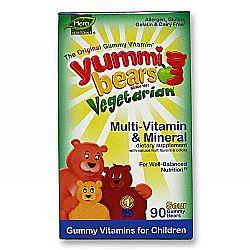 Hero Yummi Bears Vegetarian Multi