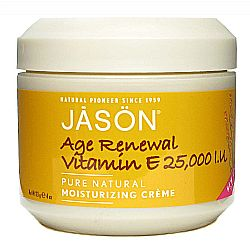Jason Natural Cosmetics Age Renewal Vitamin E 25,000 IU Moisturizing Creme