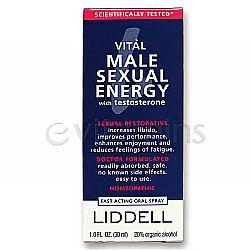 Liddell Laboratories Vital Male Sexual Energy