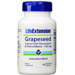 Life Extension Grapeseed Extract with Resveratrol and Pterostilbene