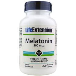 Life Extension Melatonin 500 mcg