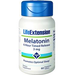 Life Extension Melatonin 6 Hour Timed Release 3 mg