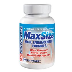 M.D. Science Lab Max Size Male Enhancement