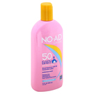 NO-AD Suncare Baby SPF 50 Sunscreen Lotion - 13 oz