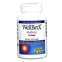 Natural Factors WellBetx Mulberry Extract