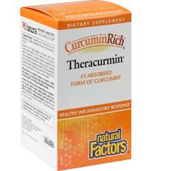 Natural Factors CurcuminRich Theracurmin 30 mg
