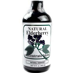 Natural Sources Elderberry Juice Concentrate Blend