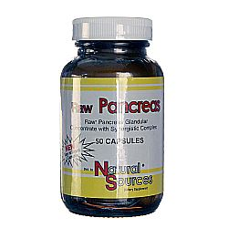 Natural Sources Raw Pancreas