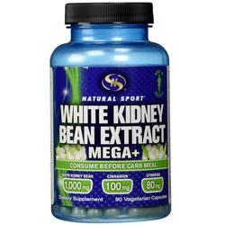 Natural Sport White Kidney Bean Extract Mega+