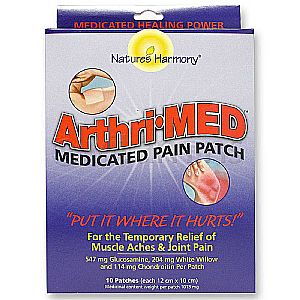 Natures Harmony Arthri Med Pain Relief Patches 10