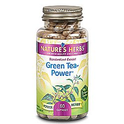 Nature's Herbs Green Tea-Power