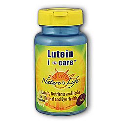 Nature's Life Lutein i-care