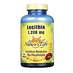 Nature's Life Lecithin 1,200 mg