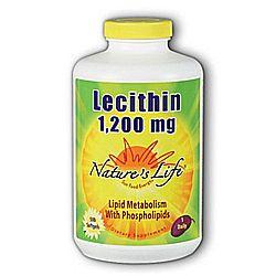 Nature's Life Lecithin 1,200 mg