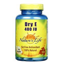 Nature's Life Dry E 400 IU