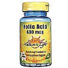 Nature's Life Folic Acid 400 mcg