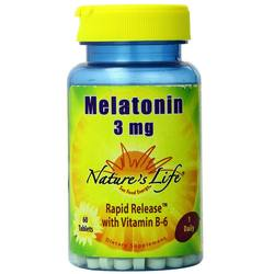 Nature's Life Melatonin 3 mg