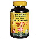 Nature's Plus Adults Chewable Vitamin D3 1000 IU