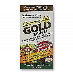 Nature's Plus Source of Life Gold Tabs