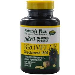 Nature's Plus Ultra Bromelain 1500 mg