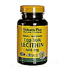 Nature's Plus Egg Yolk Lecithin 600 mg