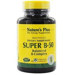 Nature's Plus Super B-50 Vegetarian Capsules