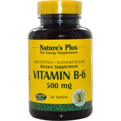 Nature's Plus Vitamin B-6, Sustained Release
