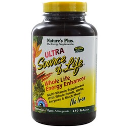 Nature's Plus Ultra Source Of Life, No Iron