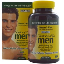 Nature's Plus Source of Life for Men (Iron Free)
