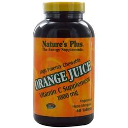 Nature's Plus Orange Juice 1000 mg