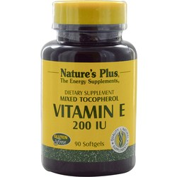 Nature's Plus Vitamin E 200 IU Mixed Tocopherol