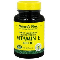 Nature's Plus Vitamin E 400 IU Mixed Tocopherol
